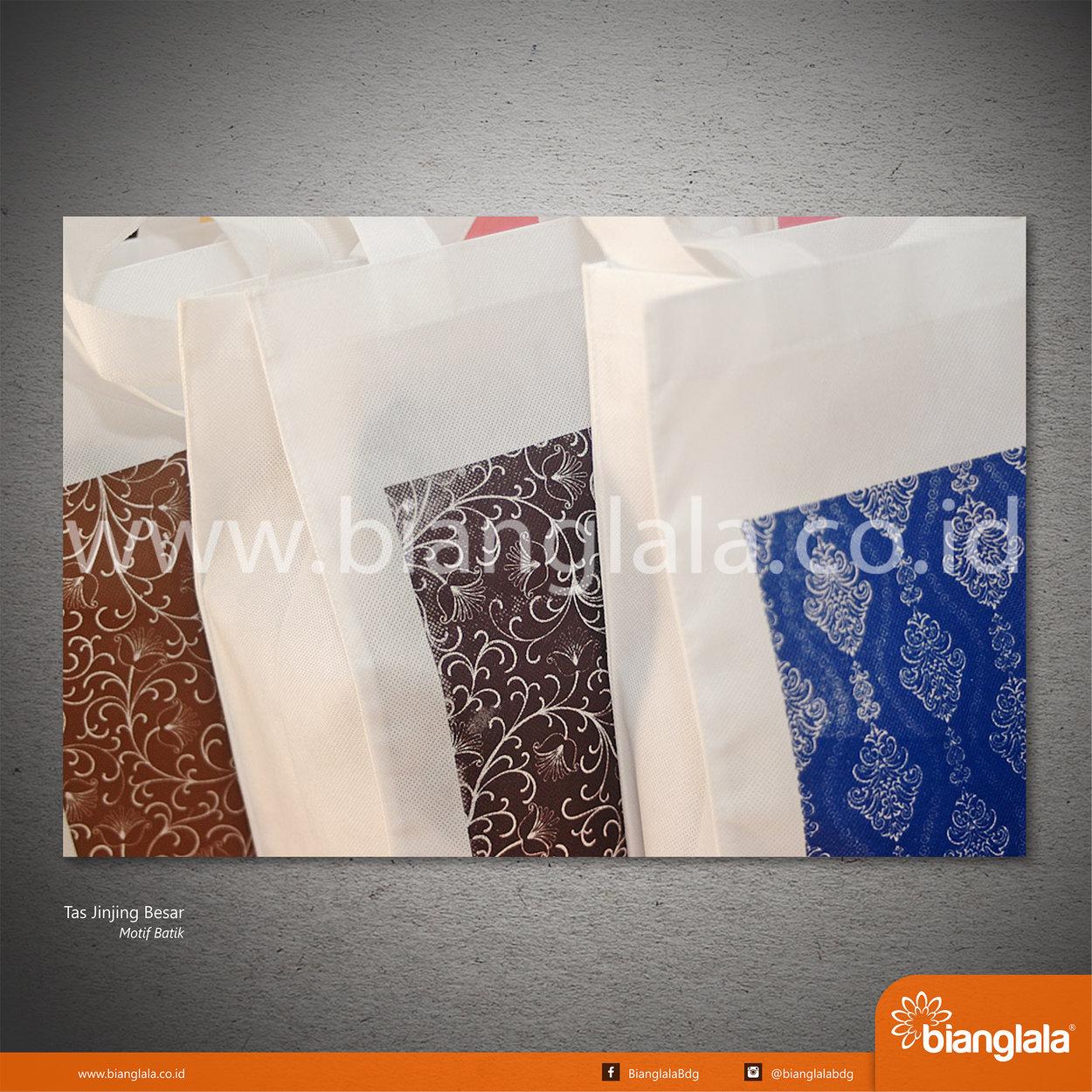 [17] Tas Jinjing Besar Motif Batik