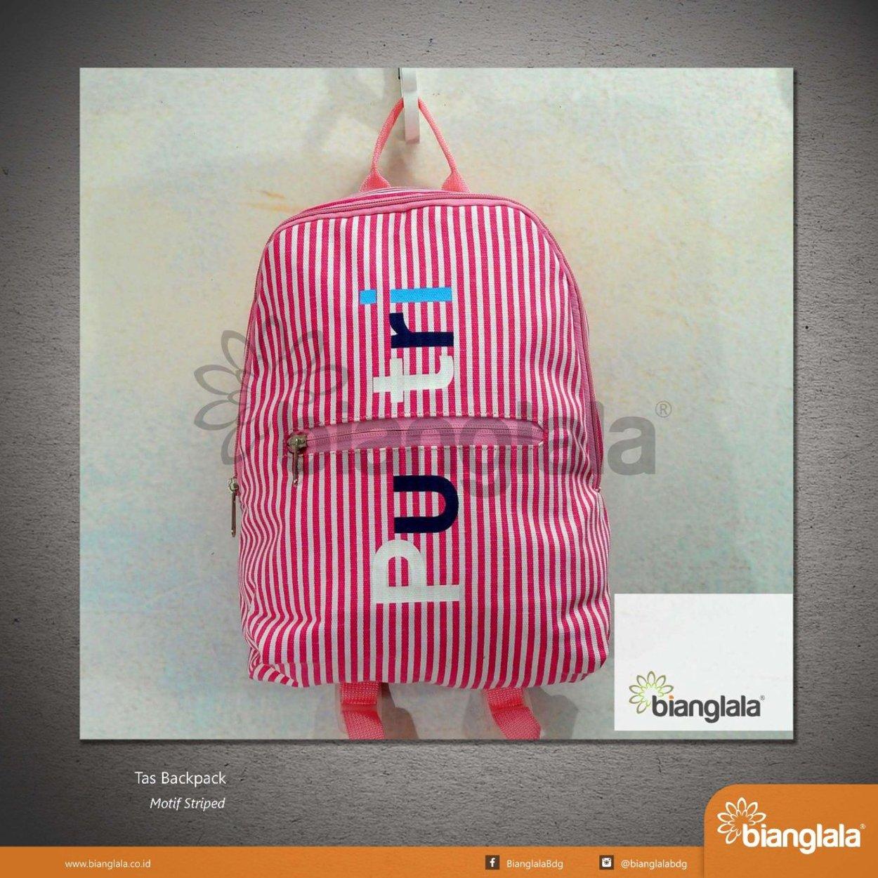 backpack striped