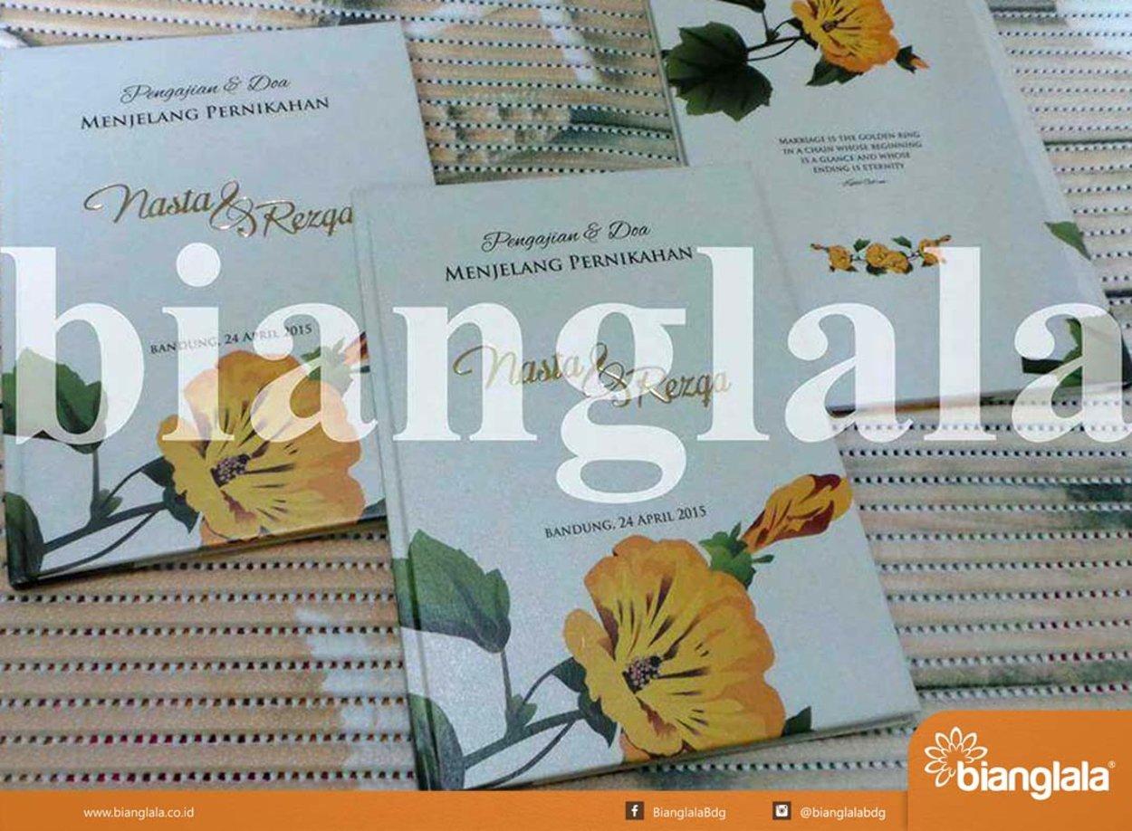 buku pengajian menjelang pernikahan soft cover copy