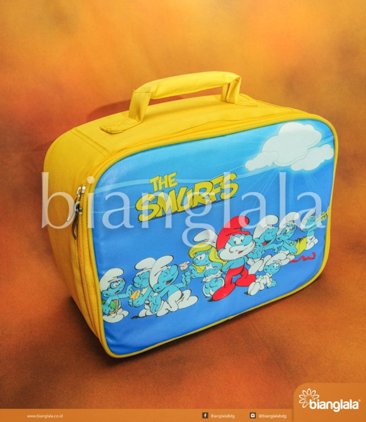 lunch box smurf1