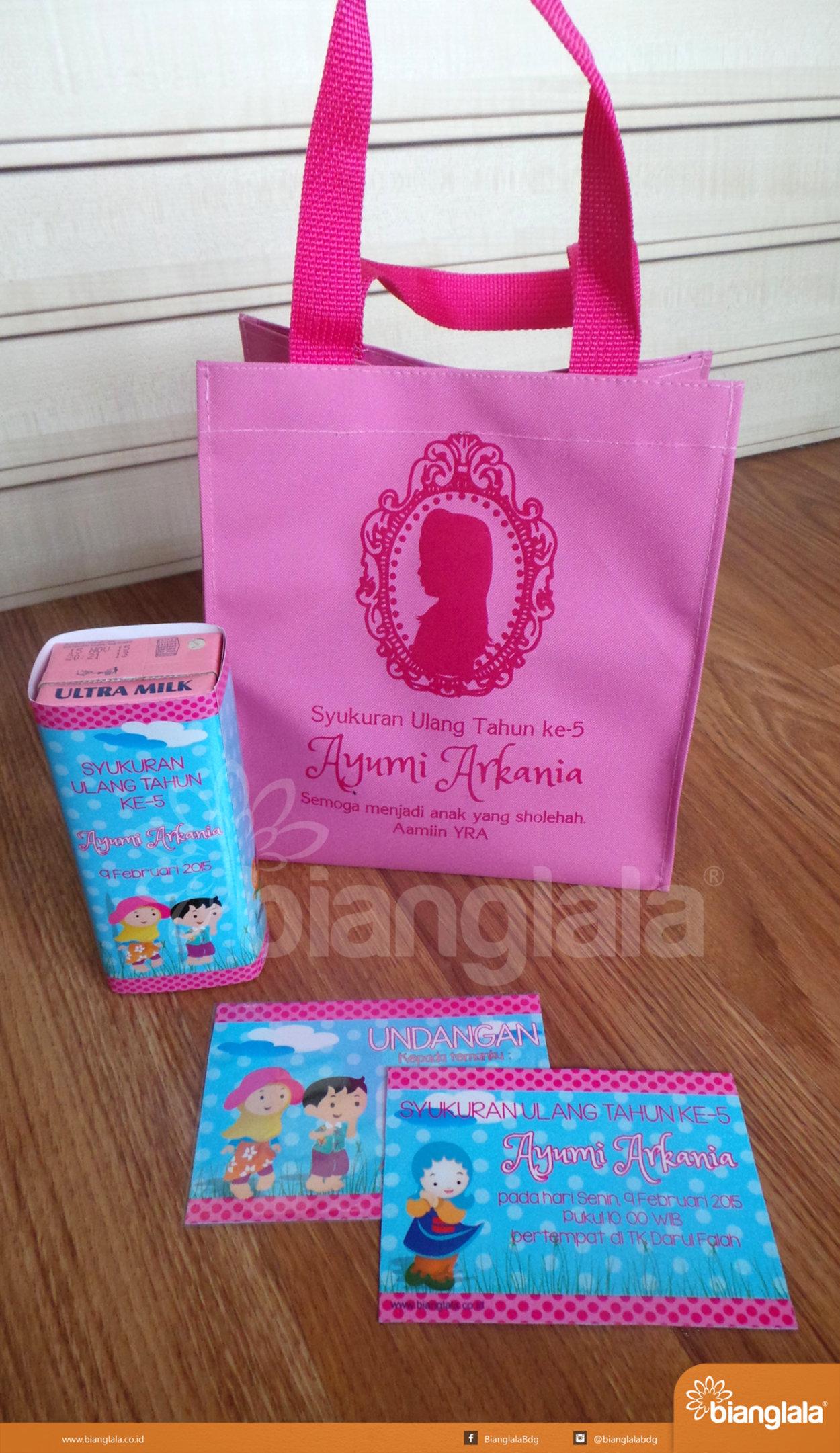 paket ultah muslimah girl