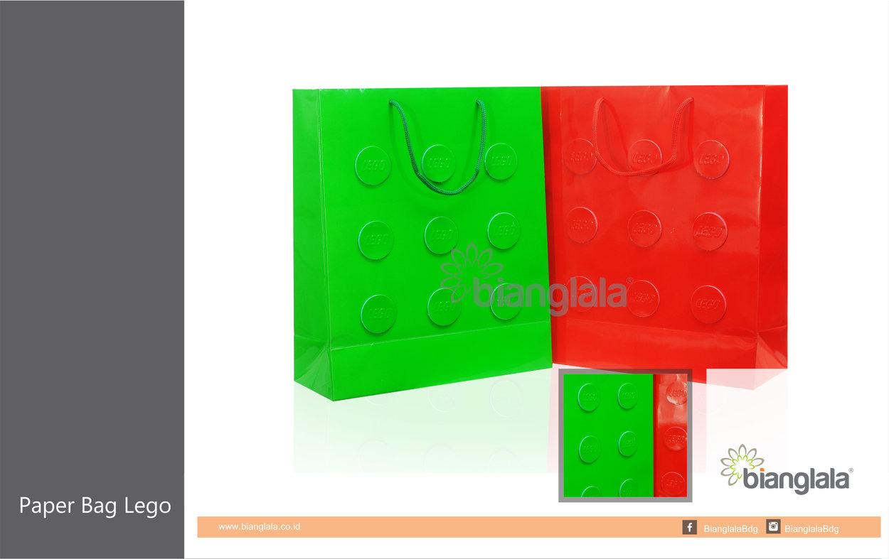 paper bag lego