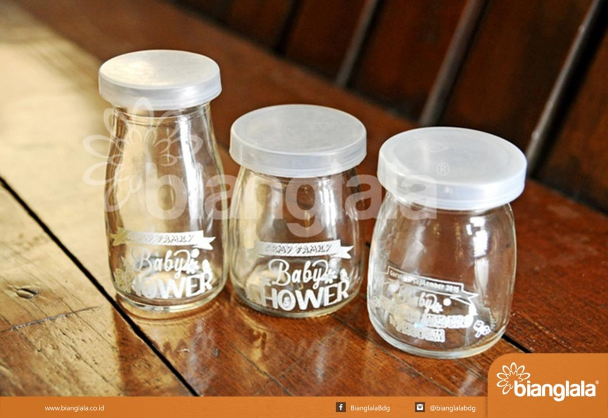 pudding jar baby shower