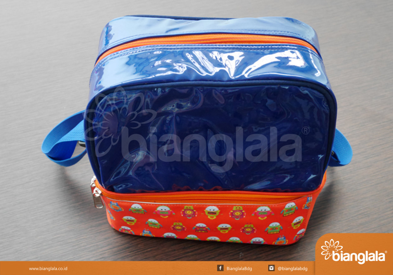 SMALL 1Lunch Box Sling Bag- Robot_0218 copy