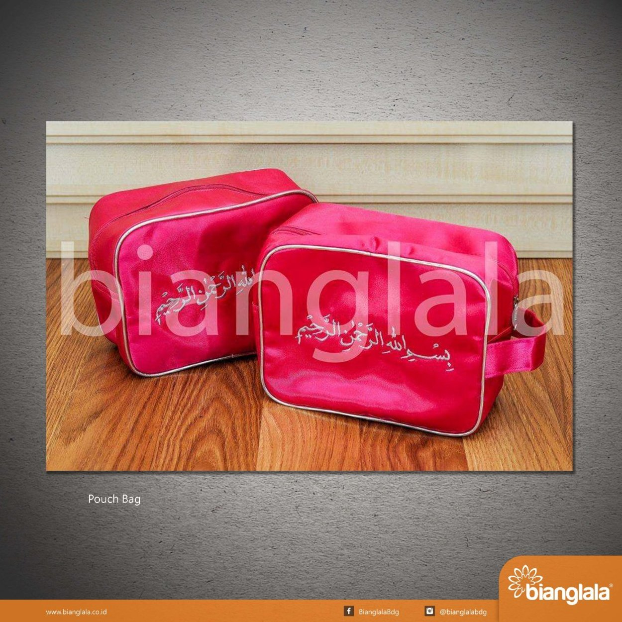 SMALL pouch bag basmallah