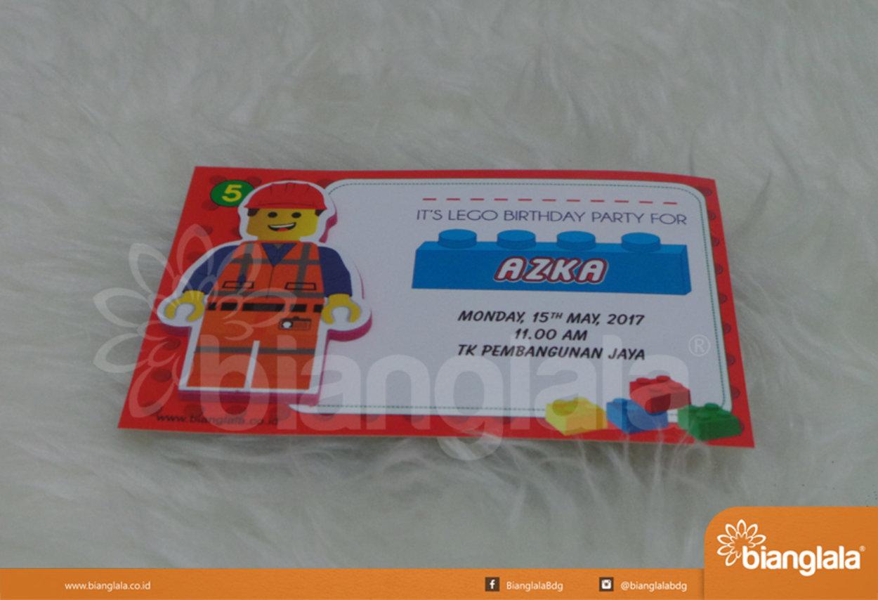 undangan ultah tema lego2