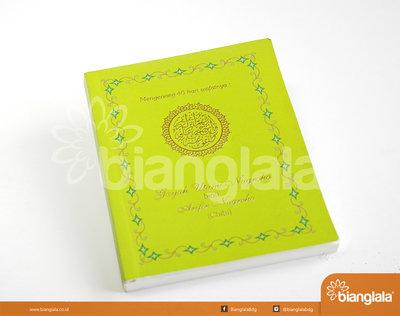 buku pengajian soft cover (kuning)1
