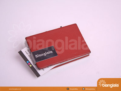 card holder red