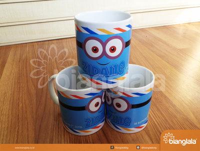 mug keramik minion