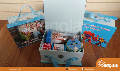 paket souvenir fam gathering tema big hero