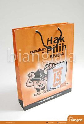 paper bag pilkada