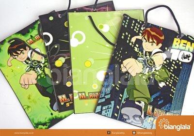 paper bag ultah Ben 3
