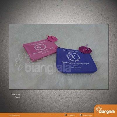 pouch biru ungu