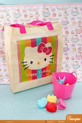 tas dinir jinjing Hello Kitty