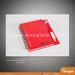 notes & ballpoint merah 1