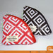 pouch bag mini motif geometri