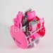 stapler stationary set pink 1