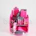 stapler stationary set pink 3