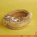 tempat perhiasan round gold 2