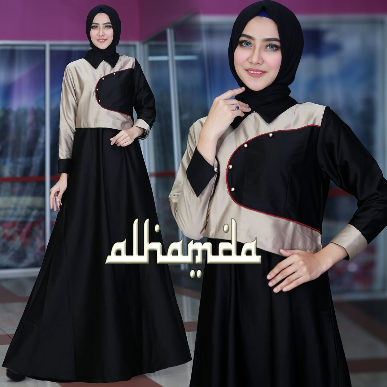 Alhamda hitam
