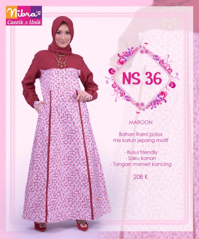 NS36 MAROON