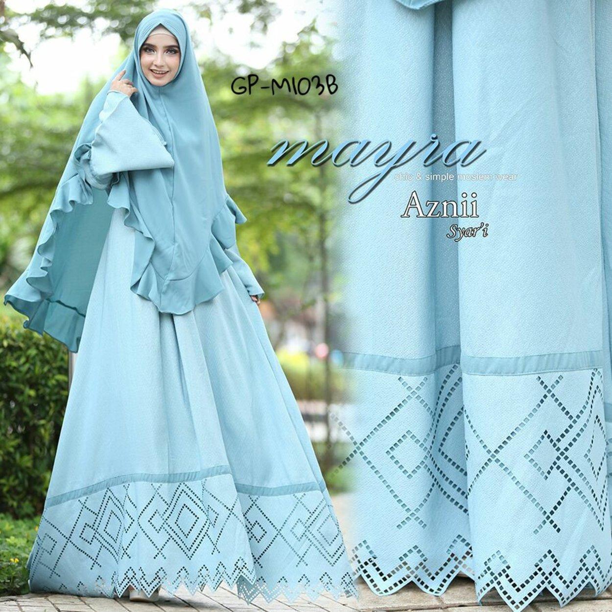 Syari Mayra Aznii gitapelangi biru