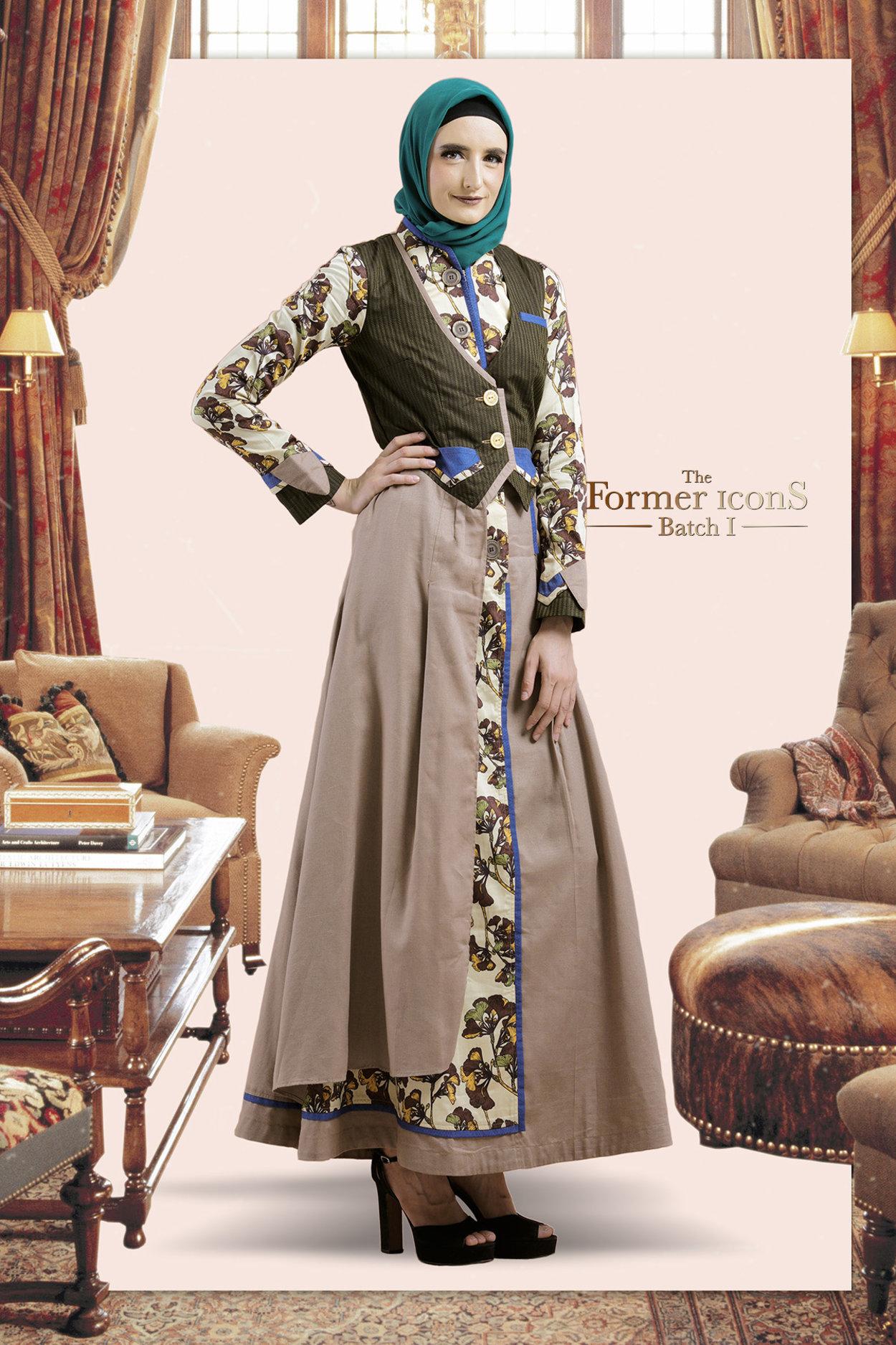 35 Trend Terbaru Model Gamis Tuneeca Batik Angela T Graff