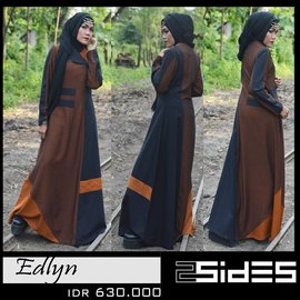 two sides gamis edlyn 630
